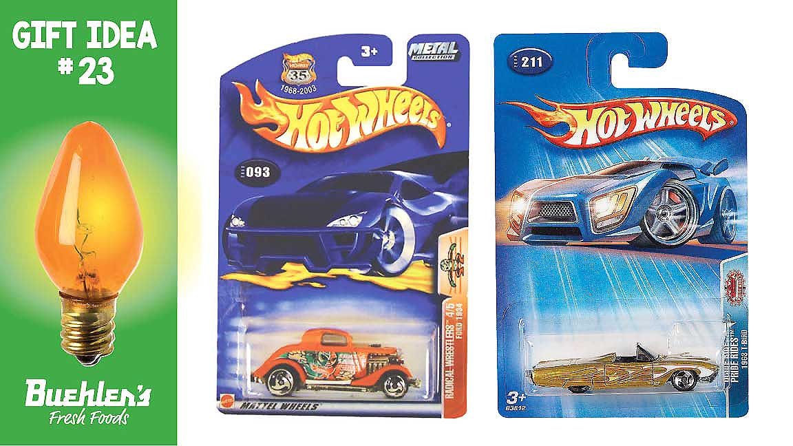 Hot Wheels - in our toy department