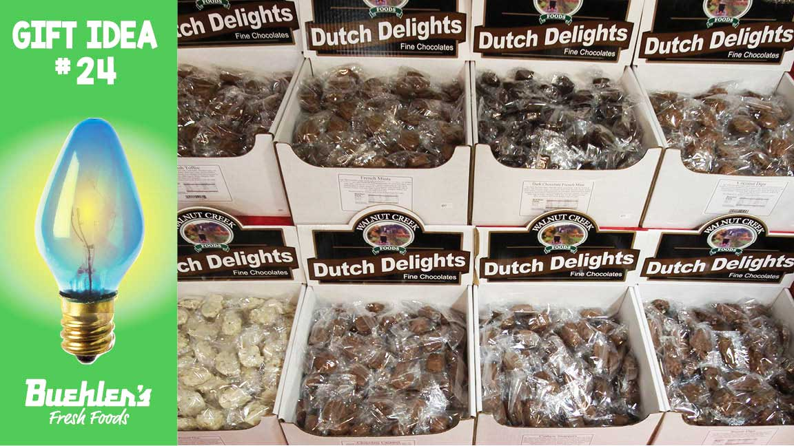 Dutch Delight Chocolates - scoop up your favorites!