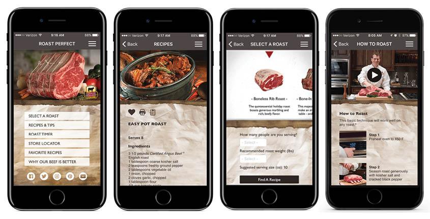 Certified Angus Beef RoastPerfect app